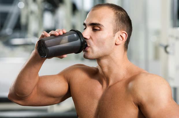 Workout-protein-shake