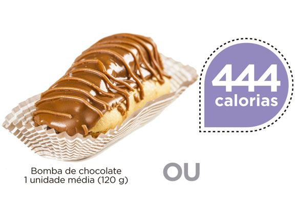 Troca esperta: 1 bomba de chocolate por 5 alimentos. Confira!