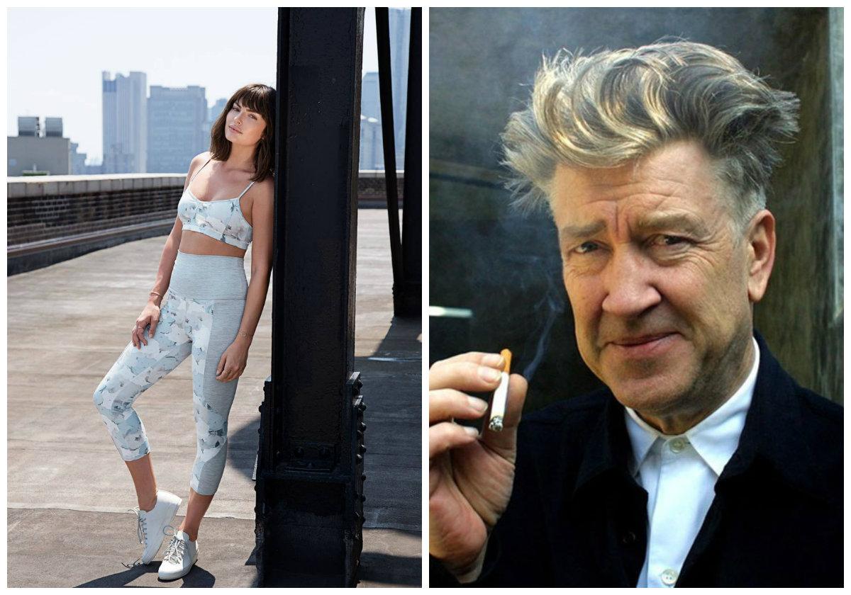 Cineasta David Lynch lança coleção de moda fitness