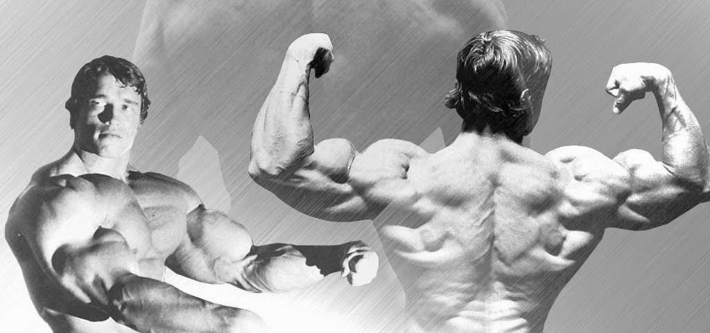 Treinando os deltoides com Arnold Schwarzenegger
