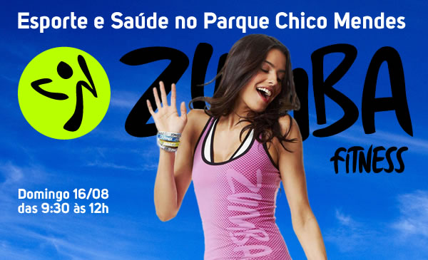 Domingo com Zumba no Parque Chico Mendes