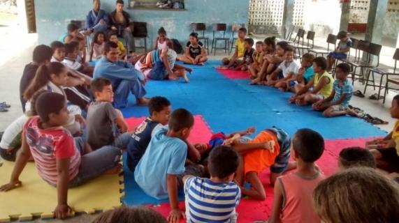 Projeto social leva o jiu-jitsu a crianças carentes de Rio Largo