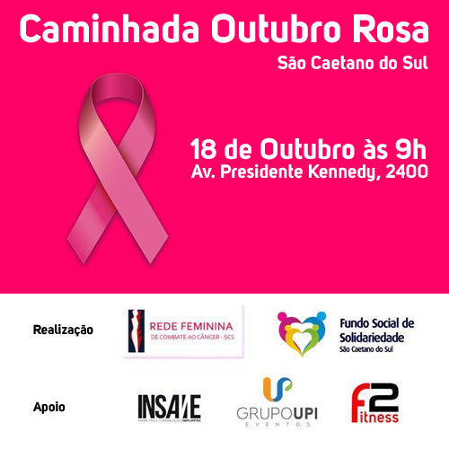 Caminhada Outubro Rosa em São Caetano do Sul
