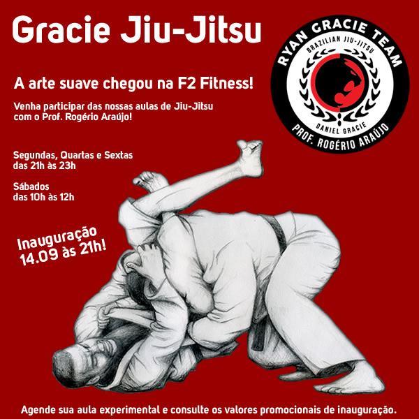 Gracie Jiu-Jitsu na F2 Fitness
