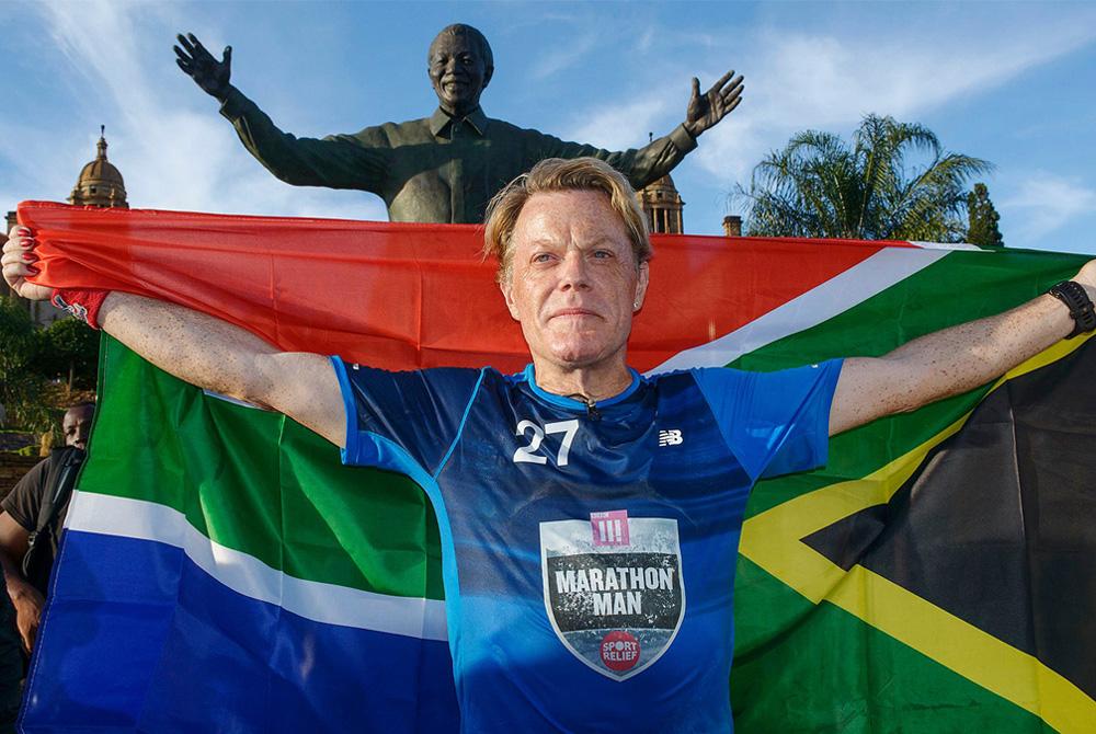 Ator britânico corre 27 maratonas em 27 dias