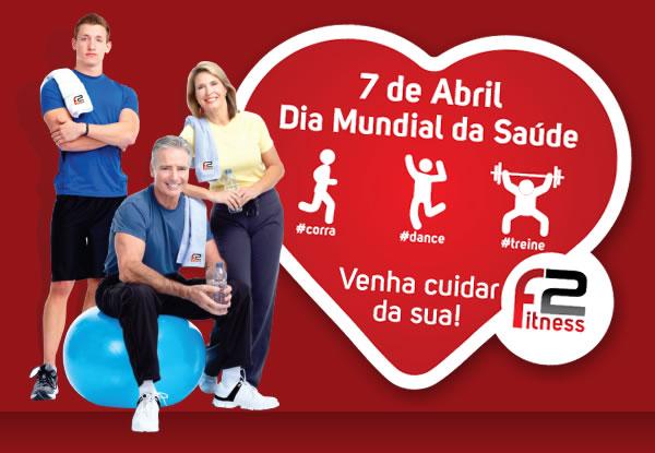 Mês da saúde na F2 Fitness