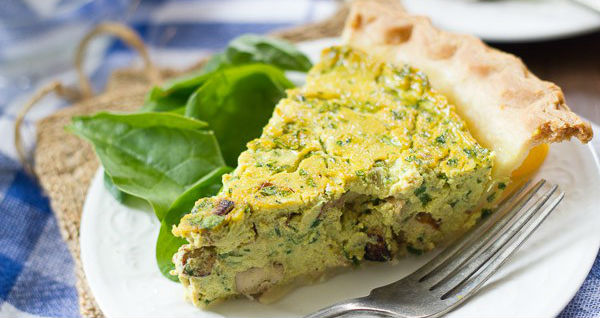 10 Receitas de Quiche Vegana Light