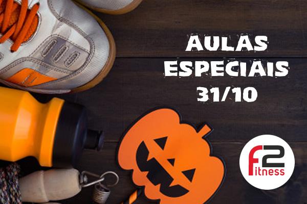 Aulas Especiais de Halloween na F2 Fitness